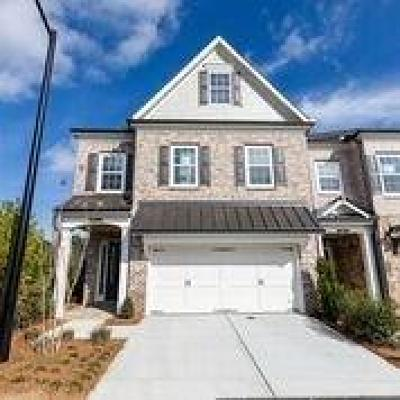 Roswell Condo/Townhouse For Sale: 3184 Havencroft Drive NE