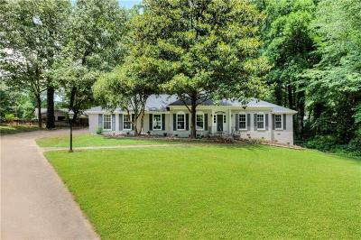 Sandy Springs Single Family Home For Sale: 211 Hillswick Court