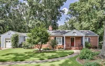 Single Family Home For Sale: 245 W Parkwood Road