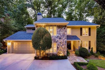 Dunwoody Single Family Home For Sale: 1612 Withmere Way
