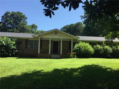Single Family Home For Sale: 1566 Hurt Road SW