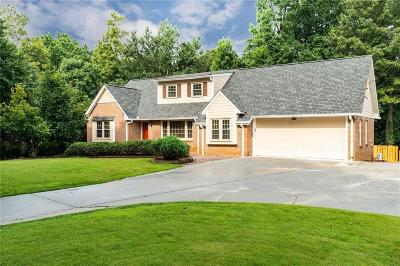 Single Family Home For Sale: 4830 Cherring Drive