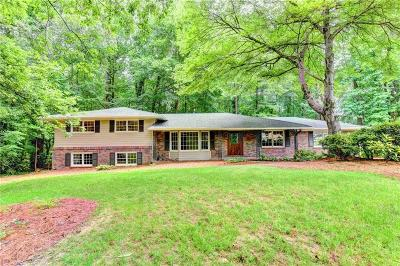 Dunwoody Single Family Home For Sale: 1561 Springfield Court