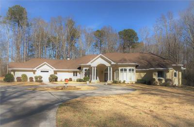 Dacula Single Family Home For Sale: 2668 Bold Springs Road