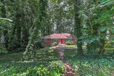 Peachtree Park Single Family Home For Sale: 672 Timm Valley Road NE