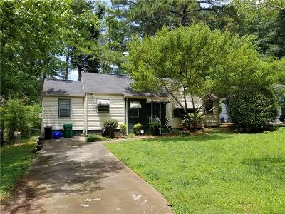 Decatur Single Family Home For Sale: 1339 Fenway Circle