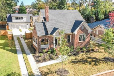 Druid Hills Single Family Home For Sale: 463 Burlington Road NE