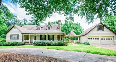 Canton Single Family Home For Sale: 5690 Arbor Hill Road
