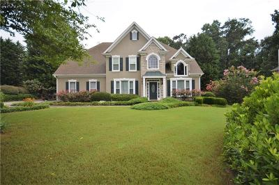Powder Springs Single Family Home For Sale: 4597 Willow Oak Trail