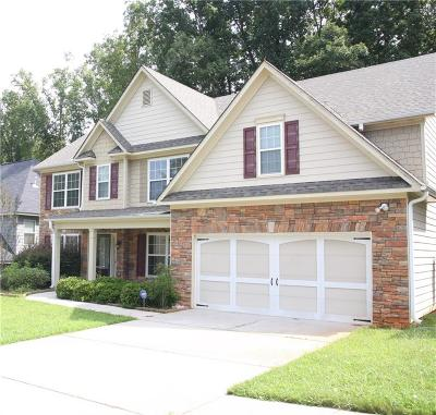 Snellville Single Family Home For Sale: 3393 Pinegate Trail