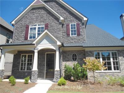 Woodstock Single Family Home For Sale: 405 Serenity Lane