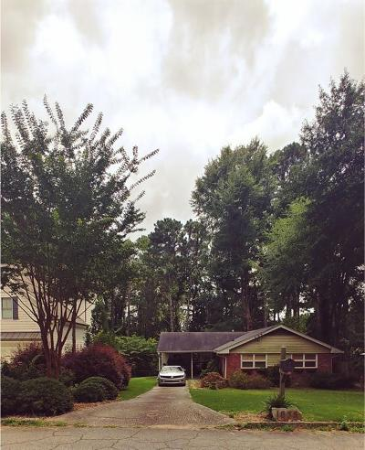 Brookhaven Single Family Home For Sale: 1635 Richwood Drive NE