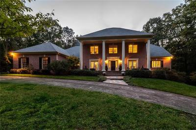 Roswell Single Family Home For Sale: 11600 Mountain Park Road