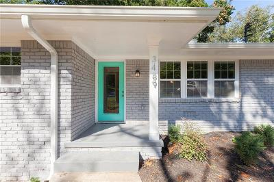 Single Family Home For Sale: 3489 Tulip Drive