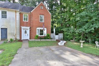 Marietta Condo/Townhouse For Sale: 2824 New South Drive