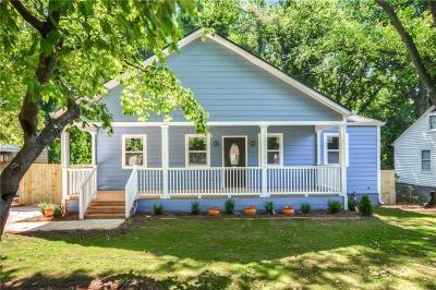 Atlanta Single Family Home For Sale: 1700 Fairway Hill Drive SE