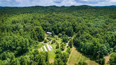 Talking Rock Land/Farm For Sale: 5AC Old Whitestone Road E