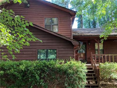 Kennesaw Single Family Home For Sale: 3775 Junction Drive NW
