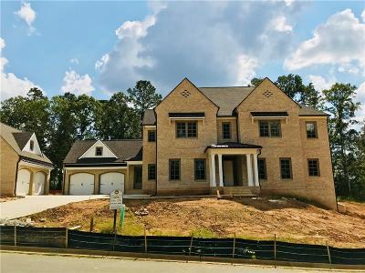 Alpharetta GA Single Family Home For Sale: $1,599,900