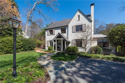 Single Family Home For Sale: 3197 Chatham Road NW