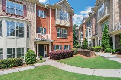 Johns Creek Condo/Townhouse For Sale: 10265 Minion Court