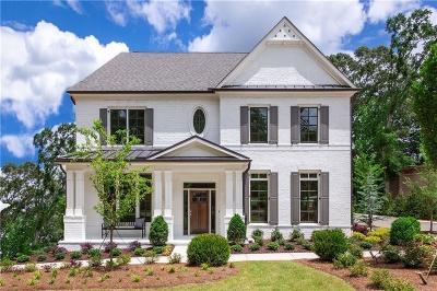 Atlanta Single Family Home For Sale: 291 Chastain Park Drive NE