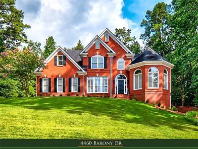 Suwanee Single Family Home For Sale: 4460 Barony Drive