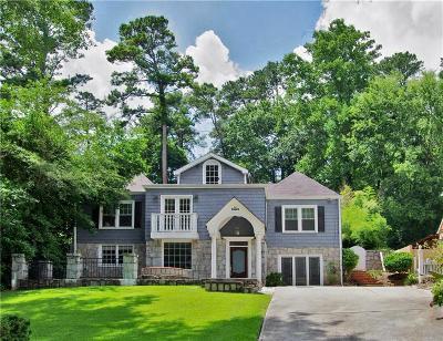 Atlanta Single Family Home For Sale: 1690 Pine Ridge Drive NE