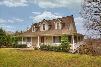 Ellijay Single Family Home For Sale: 820 Talona Mountain Road