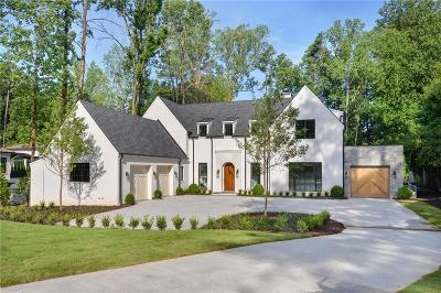 Sandy Springs GA Single Family Home For Sale: $2,695,000