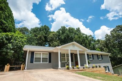 Powder Springs Single Family Home For Sale: 3690 Lavilla Drive