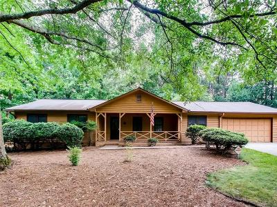 Single Family Home For Sale: 1590 Arden Drive SW
