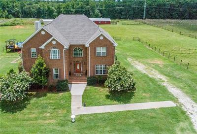 Social Circle Single Family Home For Sale: 1955 Lipscomb Road