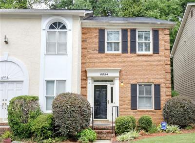 Atlanta Condo/Townhouse For Sale: 4054 Elm Street