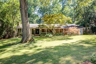 Single Family Home For Sale: 621 Edinboro Road NW