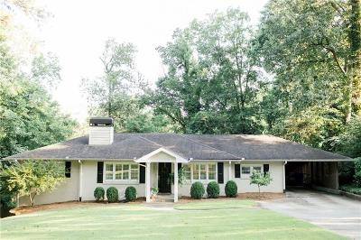 Atlanta Single Family Home For Sale: 501 Brookfield Drive