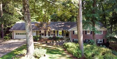 Vinings Single Family Home For Sale: 4181 Brookview Drive SE
