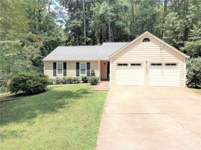 Woodstock Single Family Home For Sale: 903 Nickolaus Place