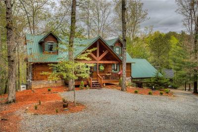 Ellijay Single Family Home For Sale: 27 Jersey Fleur Drive