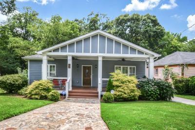 Atlanta Single Family Home For Sale: 20 Sanderson Street NE