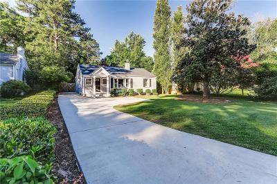 Atlanta Single Family Home For Sale: 967 Lindbergh Drive NE