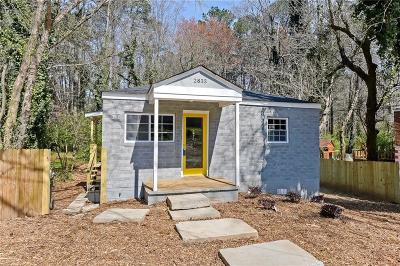Single Family Home For Sale: 2833 Burton Road NW