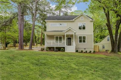 East Atlanta Single Family Home For Sale: 1922 Brannen Road SE