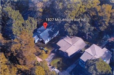 Single Family Home For Sale: 1827 McLendon Avenue NE