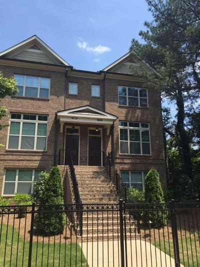Atlanta Condo/Townhouse For Sale: 2254 Lavista Court NE