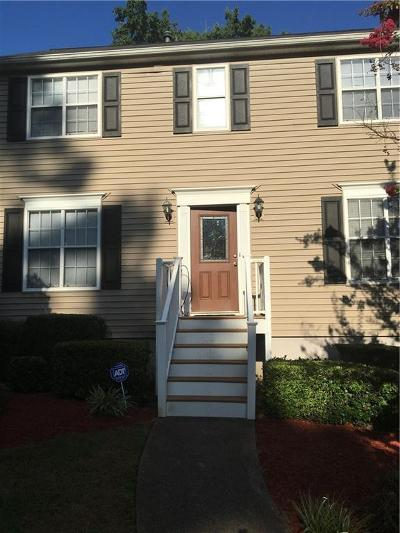 Kennesaw Condo/Townhouse For Sale: 4052 Paloverde Drive NW