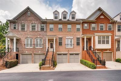 Brookhaven Condo/Townhouse For Sale: 1852 Davin Drive NE