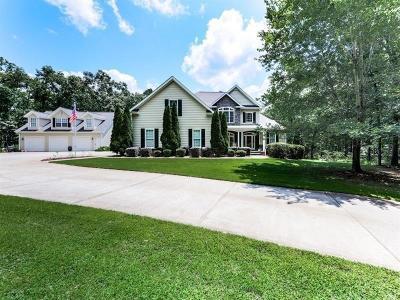 White Single Family Home For Sale: 720 Sutallee Ridge Trail NE