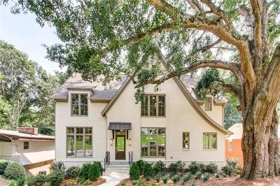 Atlanta Single Family Home For Sale: 377 Valley Brook Drive NE