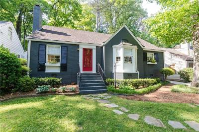 Atlanta Single Family Home For Sale: 686 Longwood Drive NW